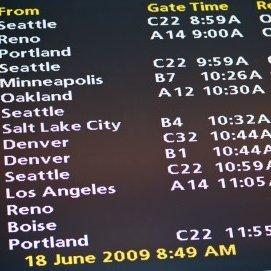 Plane Schedule