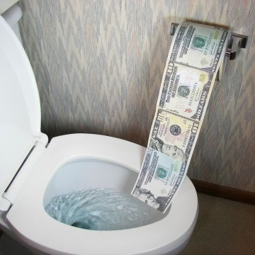 Not handling price objections is like throwing money down the toilet