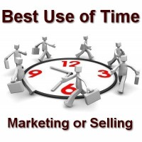 Marketing vs Selling Time