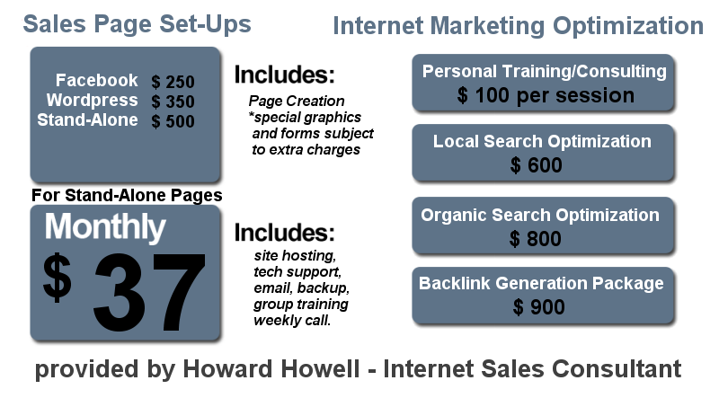 Sales Page Services