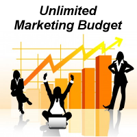 Unlimited Marketing Budget