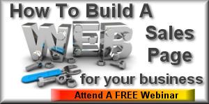 Build A Sales Page Webinar